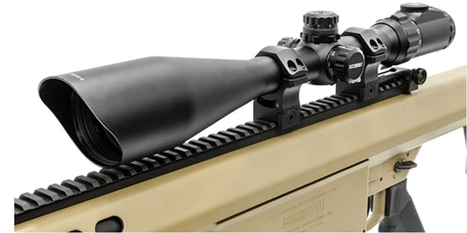 How To Mount Rifle Scope Rings